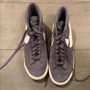 Nike blazer mid vintage sneakers (gunsmoke)